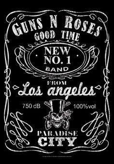 Drapeau GUNS N ROSES - Jack Label