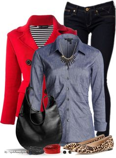 Top Products 1st week of February by tufootballmom featuring a wrap bracelet NIC ZOE shirts blouse / Dsquared2 red coat / Gianvito Rossi black flat / Coach handbag / Swarovski wrap bracelet, $98 /...
