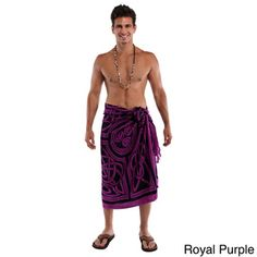 Men's Celtic Circles Sarong (Indonesia) | Overstock.com Shopping - Great Deals on 1 World Sarongs Men's Clothing