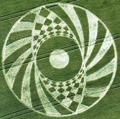 crop circles oeil halluciné