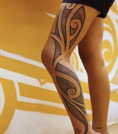 Tribal tattoo designs have always been associated with men. However women today wear tribal tattoos to prove their strength and pain endurance levels