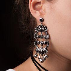 Brinco Isra! #brinco #prata #acessorios #amomuito #fashion