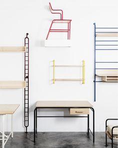 Furniture by Atelier J&J, on sightunseen.com #pin_it @mundodascasas See more Here: www.mundodascasas.com.br