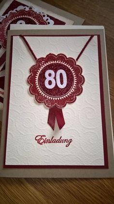 Geburtstagskarten Selber Machen Ingeborgs Bastelecke 80