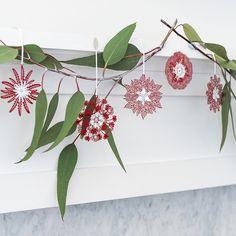 Christmas ornaments - Robin Wells Jewellery