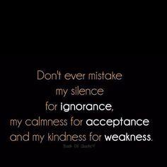 Weakness