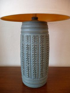 Please read our Shipping Policies section before purchasing this item This lamp was handmade by Bob Kinzie It has an incredible textured base click the image or link for more info. Ceramic Mugs, Ceramic Pottery, Ceramic Lamps, Pottery Designs, Pottery Ideas, Interior Decorating, Interior Design, Home Comforts, Earthenware