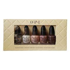 O.P.I MINI Nail Lacquer Set 5 - Take Ten Nude Famous Mini...