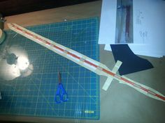 Lambent Light - Asuna's Sword with expanding foam and paper mache.