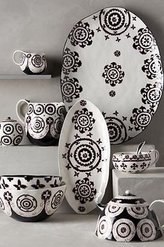Gloriosa Serveware #anthroregistry