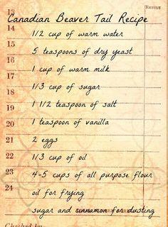 So Canadian...Beaver Tail recipe | KeepRecipes: Your Universal Recipe Box