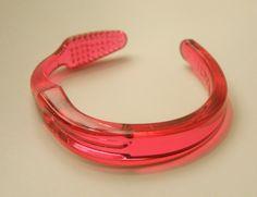 Red Toothbrush bracelet!