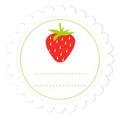 MeinLilaPark: free digital strawberry scrapbooking paper and embellishment - Clipart Erdbeere und Papier - freebie Paper Art Projects, Paper Crafts, Diy Gift Wrapping Paper, Free Printable Planner Stickers, Circle Labels, Art Plastique, Clipart, Scrapbook Paper, Print Patterns