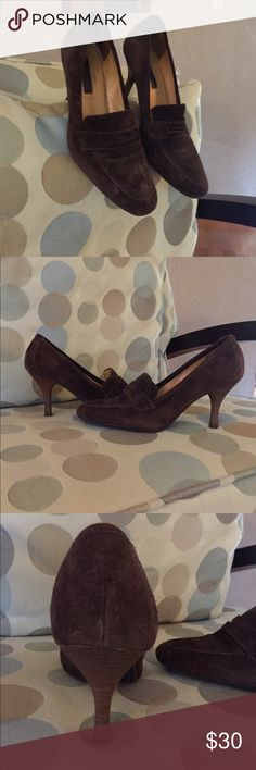 Genuine Suede Pumps Beautiful Condition Suede Pumps. Size 6B 💕💕 Tags# Abercrombie and Fitch/ Adidas/ Aldo/ American eagle/ American apparel/ American rag/ Ann Taylor/ Ann Taylor LOFT/ A|X Armani Exchange/ Banana Republic/ Calvin Klein/ Express/ Forever 21/ Free People/ French Connection/ Gap/ Guess/ H&M/ J. Crew/ Lululemon/ Mango/ Michael Kors/ Nike/ Polo Ralph Lauren/ The North Face/ Topshop/ Tommy Hilfiger/ Uniqlo/ Urban Outfitters/ Wet Seal/ Zara/ 7 for all Mankind. Shoes Heels