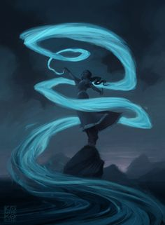 Waterbender ~ Water is the element of change. You are easily adaptable and move through life with a sense of fluidity. You may feel drawn to a career helping/healing others. To become a master waterbender you must work with your environment. Bryan Konietzko: KATARA http://bryankonietzko.tumblr.com/