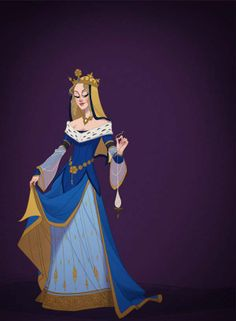 Illustrator Claire Hummel has created a unique homage to the Disney princesses through her series of graphic illustrations entitled 'Historically Correct Disney Princesses.'//