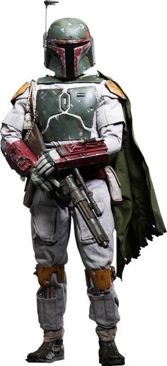 Star Wars QS Series Actionfigur 1/4 Boba Fett - The Movie Store