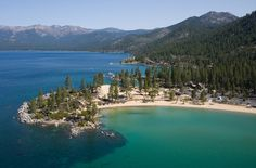 Sand Harbor at Lake Tahoe is one of the most popular and scenic Tahoe beaches. Sand Harbor offers 55 acres of paradise - expansive sandy beaches, rocky coves, and panoramic views of the east shoreline.