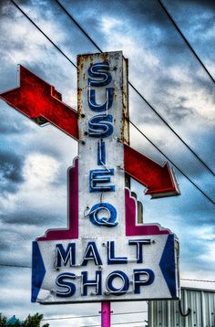"""Malt Shop. Where did the """"Susie Q"""" thing come from. My dad used to call me by that name."""