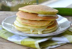 Pancake salati con zucchine e philadelphia senza burro