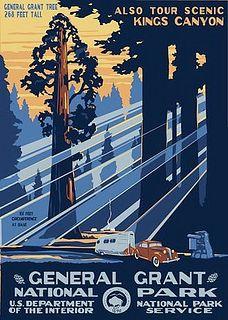 General Grant National Park Poster