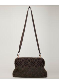 Maria La Rosa Knit Shoulder Bag.