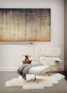 Seattle Interior Design, Lounge Chair Bedroom, Contemporary Interior Design, Eames Lounge Chair, Modern Bedroom, Residential Interior Design, Interior Design, Interior Design Firms, Residential Interior