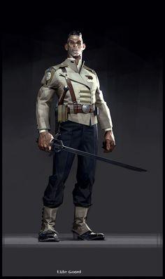 Dishonored 2: un nuovo set di artwork si concentra sul vestiario dei personaggi | VG247.it