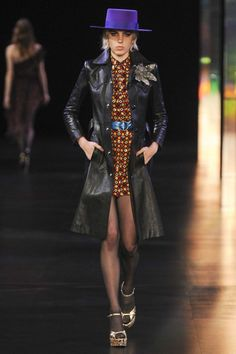 All the runway looks from Saint Laurent: Paris Ready-to-Wear Spring/Summer 2015