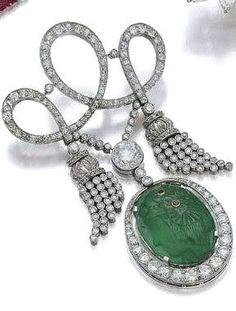 Cartier ~ Art Deco Brooch