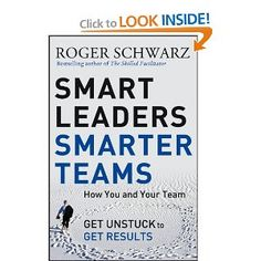 Greater than ever, efficient management requires us to work as a team, but many leaders wrestle to get the outcomes they need. When the stakes are excessive, you possibly can't get great results by just changing what you do. You also need to vary how you think. Organizational psychologist and management marketing consultant Roger Schwarz applies his 30+ years of expertise working with management teams to