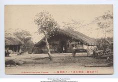 """House of Aborigines, Formosa"", (Ami group), 1907-1918"