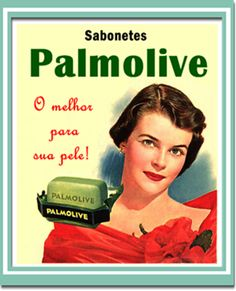 Sabonetes 'Palmolive'