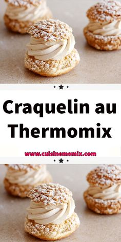 Craquelin au Thermomix Too much cabbage, these well-scented gourmet crackers! An easy recipe for an amazing result! Flagship products of Saint-Malo, crackers are cookies whose characteristic is to be crunchy in the mouth and tender in the mouth. Quick Dessert Recipes, Easy Summer Desserts, Easy No Bake Desserts, Fall Desserts, Dessert Thermomix, Patisserie Fine, No Bake Snacks, Chocolate Desserts, Quick Easy Meals