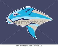 Wombat / Rodent Sports Fantasy League Logo - stock vector