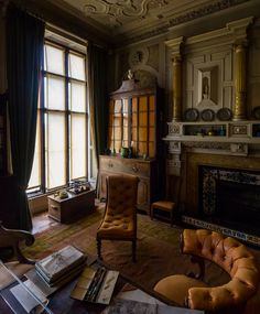 Light diffused in the room by window shades at Scotney castle, Kent, United Kingdom :edit Slight change to the exposure in the fireplace to bring some d. Memories of an Artist Windows Me, Deviantart, Memories, Curtains, Architecture, Artist, Room, Home Decor, Memoirs