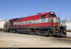 RailPictures.Net Photo: WTNN 3172 West Tennessee Railroad GE B23-7 at Jackson, Tennessee by John Ryan