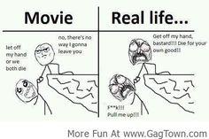 Movie Vs Real Life! - GagTown