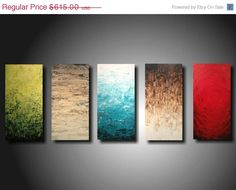 Abstract art Abstract painting Pallet Knife by JMJARTSTUDIO