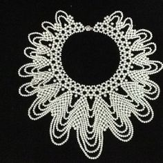 Stunning pearl collar- $300 Southern Belle, Classy Women, Bead Weaving, Wardrobe Staples, Seed Beads, Gems, Fancy, Jewels, Crafty