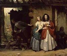 The Flight of Henrietta Maria of France Queen of England in 1638 Francois-Augustin Desmoulins by Real Distan, via Flickr