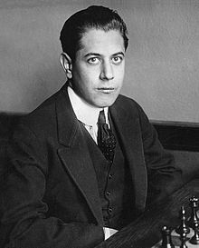 José Raúl Capablanca  (1888-1942) - chess champion 1921-1927