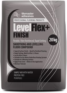 Tilemaster are great products so we are delighted to be offering Tilemaster LevelFlex+ FINISH on bulk buy pallet deals. It's a quality floor levelling compound that's easy to mix. You can't beat the quality of #tilemaster and the deals on offer at #buythepallet - we always love a good deal #levelflexfinish #floorlevellingcompound Electric Underfloor Heating, Underfloor Heating Systems, Buy Pallets, Rising Damp, Compressive Strength, British Standards, Vinyl Tiles, Surface Finish, Heating Element