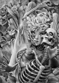 Anatomical Phases by Alfonso Elola © FB / Behance / Blog (Please leave credit and links … Ƹ̴Ӂ̴Ʒ)