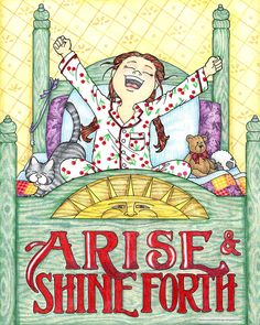 Arise and Shine Forth print Bible Study For Kids, Kids Bible, English Homework, Lds Seminary, Arise And Shine, Heart Clip Art, Lds Church, Girls Camp, Girl Scouts