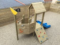 Dartmouth Pre School contacted Rhino Play to discuss their requirements for a new outdoor Play Boat. Rhino Play designed, supplied & installed within budget Diy Outdoor Toys, Outdoor Play Spaces, Kids Outdoor Play, Kids Play Area, Backyard For Kids, Toddler Outdoor Play Equipment, Indoor Play, Toddler Playground, Backyard Playground