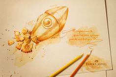 Pict Estúdio — Faber-Castell   Lápis Aquareláveis