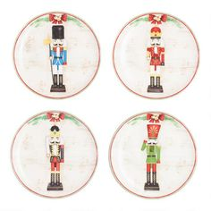 A World Market favorite, our exclusive Nutcracker Plates are a must-have for the holidays - so get them while you can! With their adorable nutcracker design, these are the perfect plates for setting a charming table in the spirit of the season. Vinyl Record Storage, Lp Storage, World Market Store, Nutcracker Christmas, Christmas Stuff, Christmas Holiday, Xmas, Tv Stand Console, Plate
