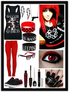 """BVB OvErLoAd!!!"" by kaylie-carter ❤ liked on Polyvore"