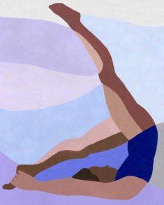 Ines Longevial by reva Yoga Art, Art Moderne, New Art, Art Inspo, Design Art, Art Projects, Street Art, Art Gallery, Illustration Art